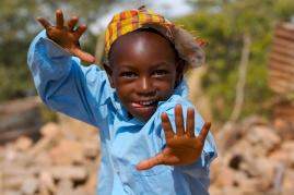 Happy African boy